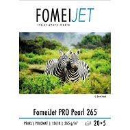 FOMEI Jet PRO Pearl 265 13×18 – balení 20 ks + 5 ks zdarma - Fotopapier