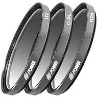 Fomei Filter Kit 58 mm (UV, CPL, ND4) - UV filter