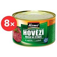 HAMÉ Hovädzie mäso so šťavou 8× 400 g - Konzerva