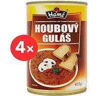 HAMÉ Hubový guláš hotové jedlo 4× 415 g - Hotové jedlo