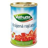 VALFRUTTA Paradajky lúpané krájané 4× 400 g - Konzervovaná zelenina