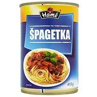 HAMÉ Špagetka mäsová zmes 415 g - Hotové jedlo