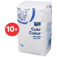 ARO Cukor kryštál 10× 1 kg - Cukor