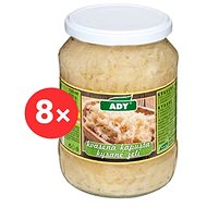 ADY Kyslá kapusta 8× 620 g - Sterilizovaná zelenina