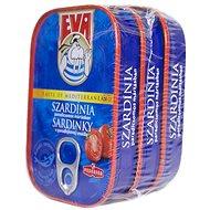 EVA Sardinky v paradajkovej omáčke 3× 115 g - Konzerva