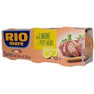 RIO MARE Tuniak citrón+čierne korenie 3× 80g - Konzerva