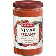 PODRAVKA Ajvar ostrý 690 g - Konzervovaná zelenina
