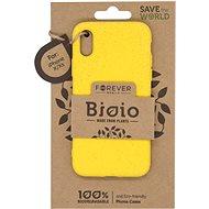 Forever Bioio pre iPhone X/XS žltý - Kryt na mobil