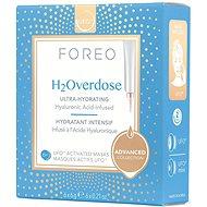 FOREO UFO – Aktívna maska H2Overdose, 6 balení - Pleťová maska