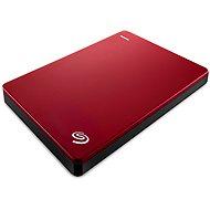 Seagate BackUp Plus Slim Portable 1 TB červený - Externý disk