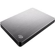 Seagate BackUp Plus Slim Portable 1 TB strieborný - Externý disk