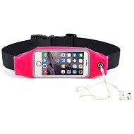 """Forever Puzdro na telefón typu ľadvinka 6,2"""" ružové - Puzdro na mobil"""
