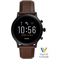 FOSSIL FTW4026_M_Black/Brown_Leather