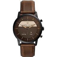 Fossil FTW7008 Hybrid HR Collider 42 mm – Hnedá koža - Smart hodinky