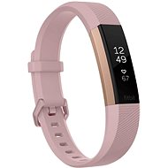 Fitbit Alta HR Pink Rose Gold Large - Fitness náramok