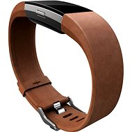 Fitbit Charge 2 Band Leather Brown Large - Remienok