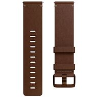 Fitbit Versa Accessory Band, Leather, Cognac, Large - Remienok