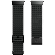 Fitbit Versa Accessory Band, Metal Mesh, Black Stainless Steel, Standard - Remienok