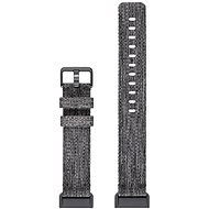 Fitbit Charge 3 Accessory Band Woven Charcoal Large - Remienok