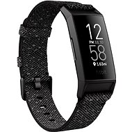 Fitbit Charge 4 Special Edition (NFC) – Granite Reflective Woven/Black - Fitness náramok