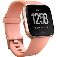 Fitbit Versa – Peach/Rose Gold Aluminum - Smart hodinky