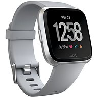 Fitbit Versa – Gray/Silver Aluminum - Smart hodinky