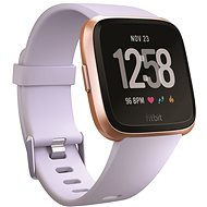 Fitbit Versa – Rose Gold/Periwinkle - Smart hodinky