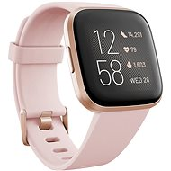 Fitbit Versa 2 (NFC), Petal/Copper Rose - Smartwatch