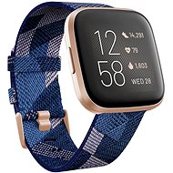 Fitbit Versa 2 Special Edition (NFC) – Navy & Pink Woven