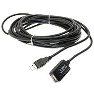 PremiumCord USB 2.0 repeater 5 m predlžovací - Dátový kábel