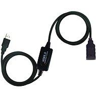 PremiumCord USB 2.0 repeater 10 m, predlžovací