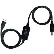 PremiumCord USB 2.0 repeater 10m prepojovací - Dátový kábel