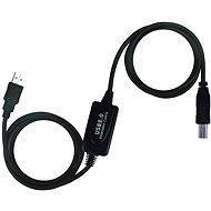 PremiumCord USB 2.0 repeater 20 m prepojovací - Dátový kábel