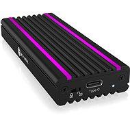 ICY BOX IB-1824ML-C31 USB Type-C Enclosure for M.2 NVMe SSD – RGB - Externý box