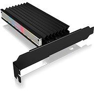 ICY BOX IB-PCI224M2-ARGB ARGB PCIe extension card for M.2 NVMe SSD - Radič