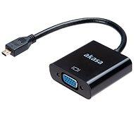 AKASA Micro HDMI – VGA Adaptér/AK-CBHD21-15BK - Redukcia