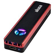AKASA – Vegas M.2 SATA/NVMe SSD externý box s USB 3.2 Gen 2/AK-ENU3M2-06 - Externý box