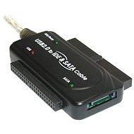 """PremiumCord – konvertor USB 2.0 – IDE 40/44 pinov a SATA, pre 2.5"""" i 3.5"""" HDD, AC adaptér - Redukcia"""
