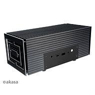 AKASA Turing FX hliníková skrinka pre 10. Gen Intel NUC (Frost Canyon)/A-NUC52-M1B - PC skrinka