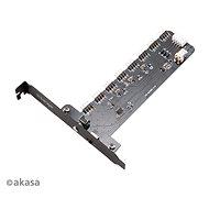 AKASA Vegas RGB Controller Card XL / AK-RLD-03 - Príslušenstvo