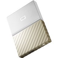 "WD 2.5"" My Passport Ultra Metal 1TB strieborný - Externý disk"