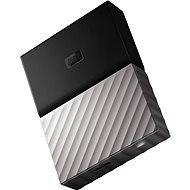 "WD 2.5"" My Passport Ultra Metal 4TB strieborný - Externý disk"