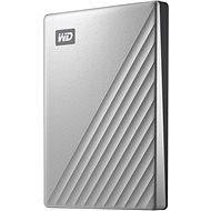 "WD 2,5"" My Passport Ultra 1 TB strieborný - Externý disk"