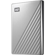 "WD 2,5"" My Passport Ultra 2 TB strieborný - Externý disk"