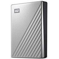 "WD 2,5"" My Passport Ultra 4 TB strieborný - Externý disk"
