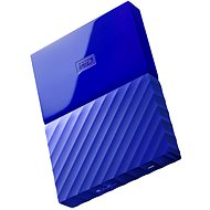 "WD 2,5"" My Passport 1 TB modrý - Externý disk"