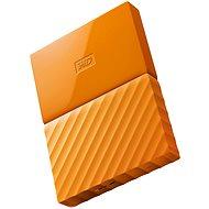 "WD 2,5"" My Passport 1 TB oranžový - Externý disk"