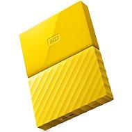 "WD 2,5"" My Passport 1 TB žltý - Externý disk"