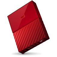 "WD 2,5"" My Passport 4 TB červený - Externý disk"