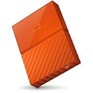 """WD 2,5"""" My Passport 4 TB oranžový"""